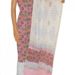 hand block Printed Cotton Salwar Suit