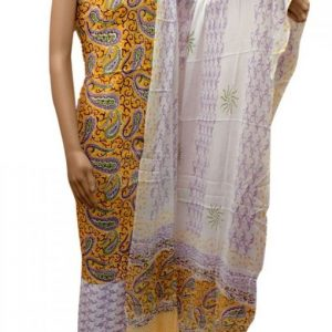 hand block Printed Cotton Suit