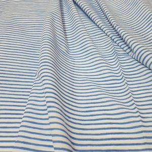 Block Printed Stripes Renning