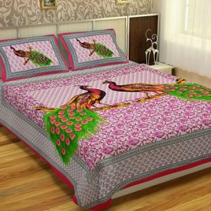 jaipuri bed sheets king size