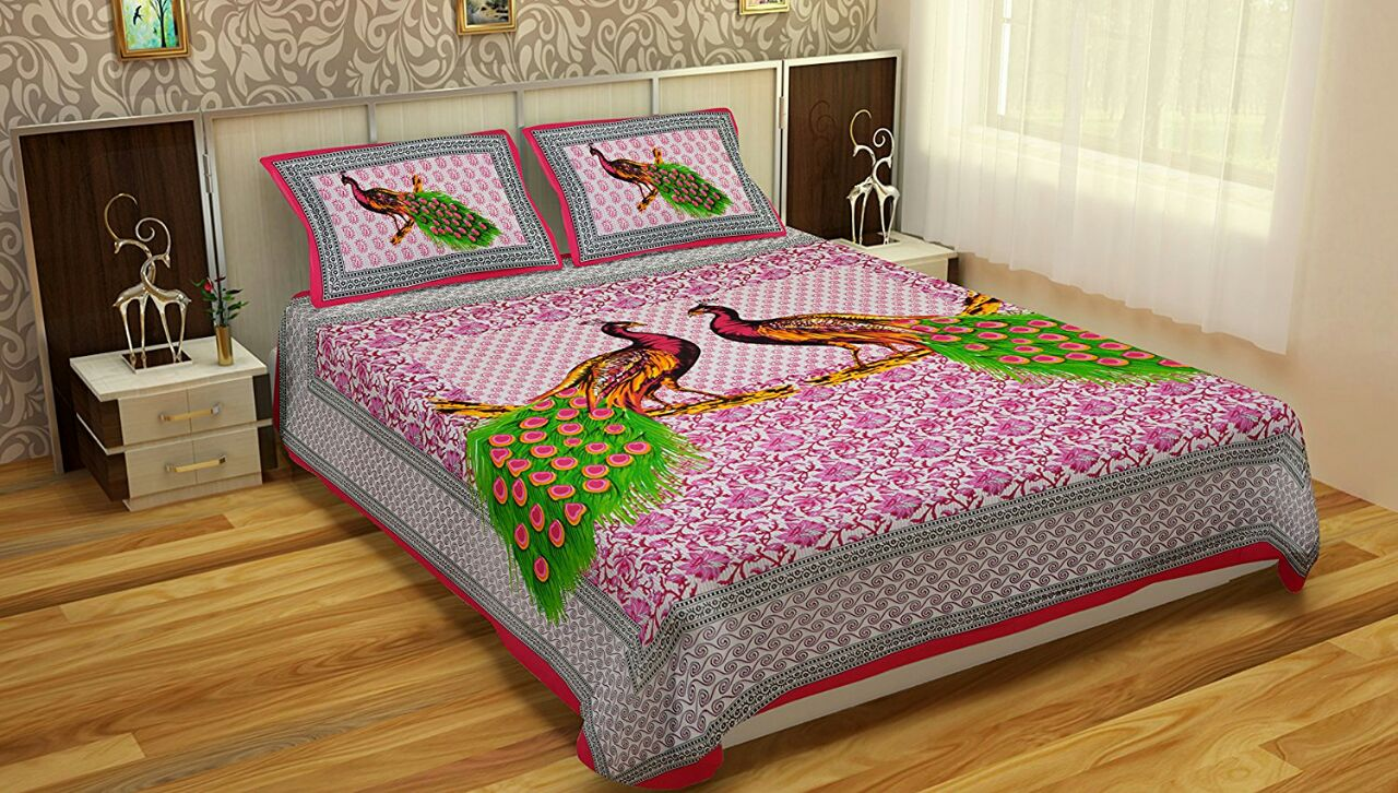 Jaipuri Bed Sheets King Size Just Rs498 Also Use Coupon Fr
