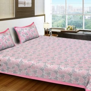 double bed sheets cotton
