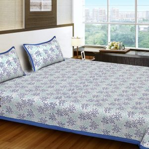 bed sheets blue