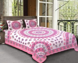 jaipuri bedsheets double bed king size bed
