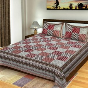 bedsheets cotton double bed