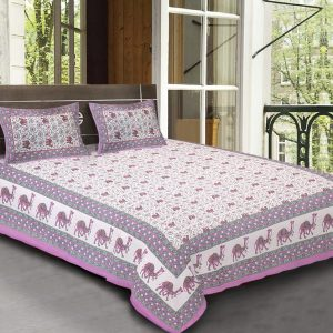 bed sheets bombay dyeing cotton double bed set combo