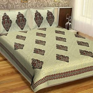 bed sheets for double bed cotton
