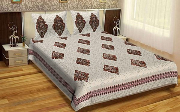 bedsheets cotton double bed set combo