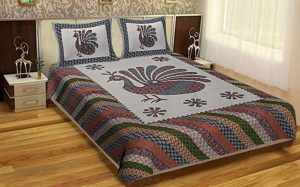 bed sheets and pillow cover for double bed