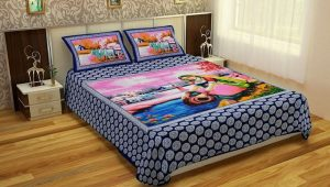 Cotton king size bed sheet