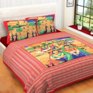 Cotton kingsize bedsheet