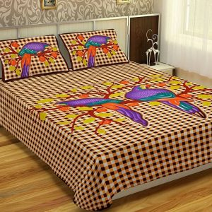 King size bed sheets with pillow covers