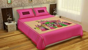 Bedsheet for double bed cotton