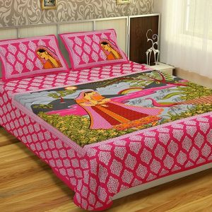 Bedsheet for double bed