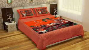 traditional print bed sheets