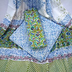 block printed salwar suit
