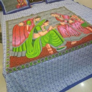 Double Bedsheet with pillows