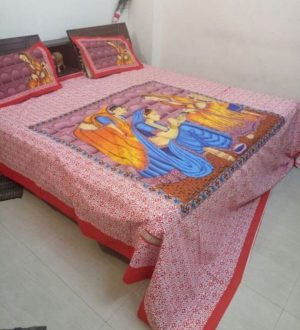 Double Bedsheet with pillow covers