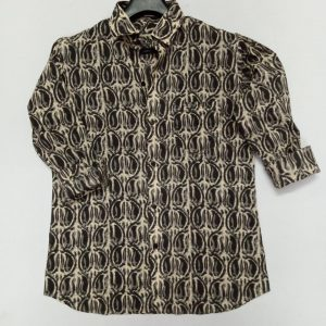 Hand Block Print Cotton Shirt